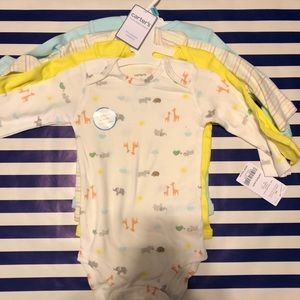 Carters 4 Piece Body Suits